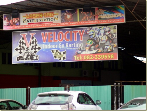 Velocity Indoor Go Karting, Bintawa, Kuching