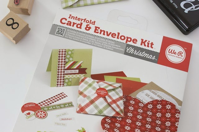 interfold card & envelope kit