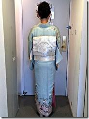 着付師 平池さん広島プリンスホテルへ出張着付け (2)