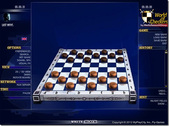 Capture the opponents' checkers and make them impossible to move!