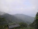The clouds lifts on Sanggabuana (Daniel Quinn, July 2010)