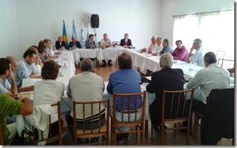 Del encuentro participaron delegaciones provenientes de distintas regionales de la provincia de Buenos Aires y referentes del sector del partido de La Costa