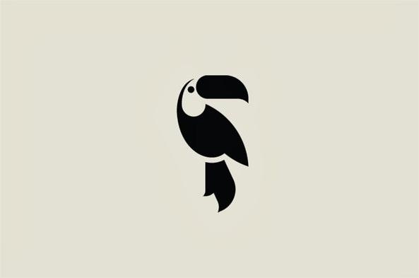 22 ejemplos de hermosos logotipos con estilo ultra minimalista 1