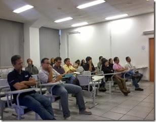 """""""Workshop: Sustentabilidade, Pesca e Aquicultura: Perspectivas e Oportunidades"""" entre UNIFESP-BS e o Instituto de Pesca"""