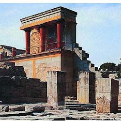 02 - Acceso norte al palacio de Knossos