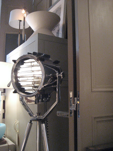 This nautical inspired searchlight is great. I love the polished nickel finish and the unique reflective glow of the light.