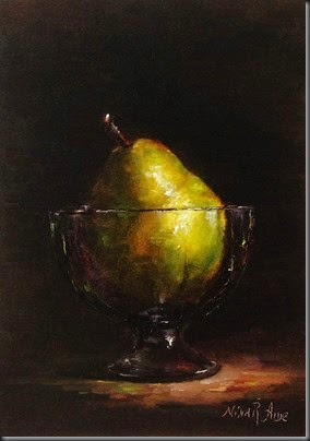 Pear in Glass