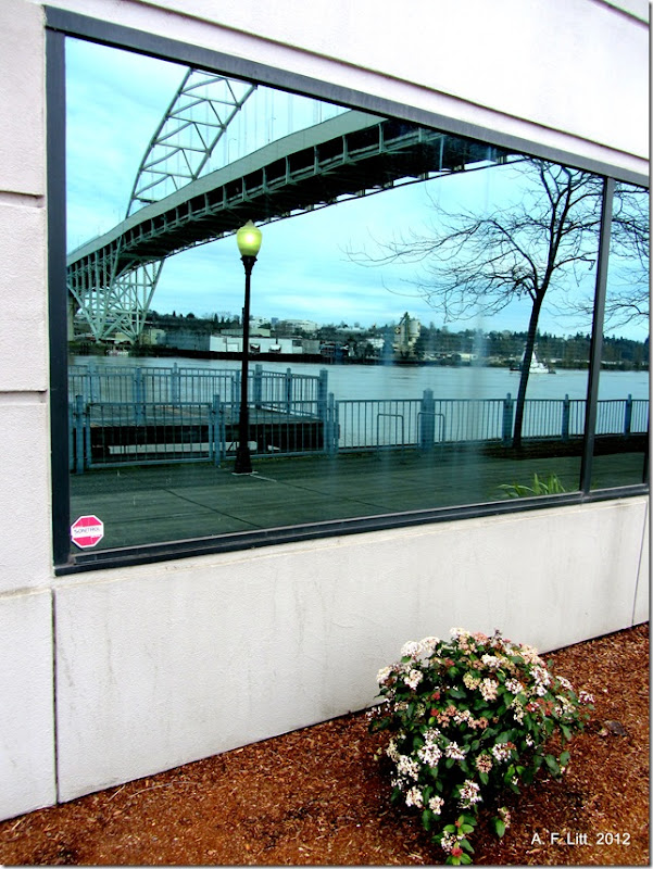 Bridge Window.  Portland, Oregon.  April 2, 2012.  Photo of the Day by A. F. Litt:  September 13, 2012.