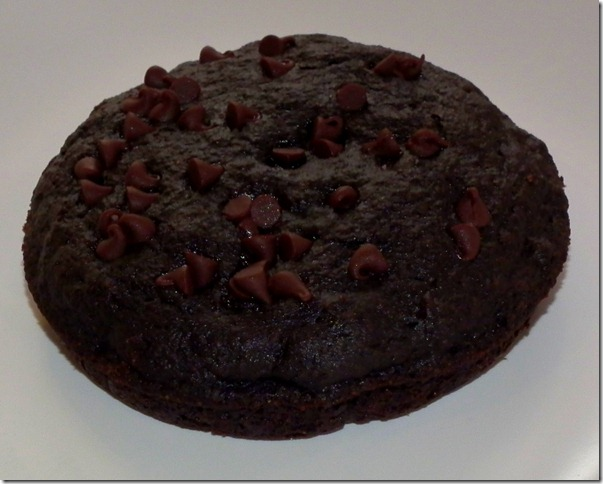 Double Dark Chocolate Banana Muffin Top--SRC 1-18-12
