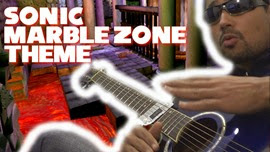 Guitar Cover, Marble Zone, Sonic The Hedgehog, Mega Drive