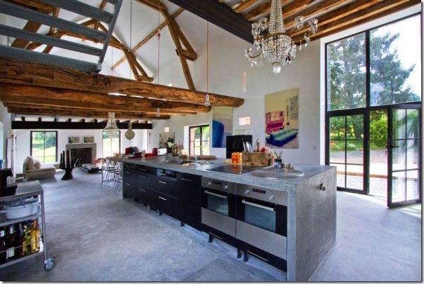 case e interni - Borgogna - rustico - moderno (2)