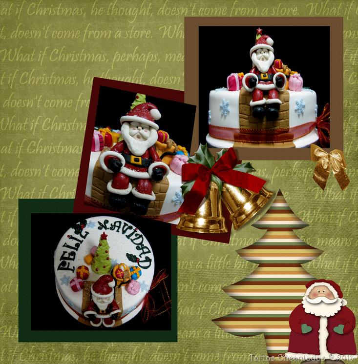 tarta navidad