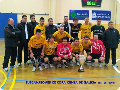 Subcampeon_Copa_Xunta GALICIA
