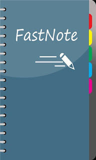 FastNote is clean and simple with a non-existant learning curve