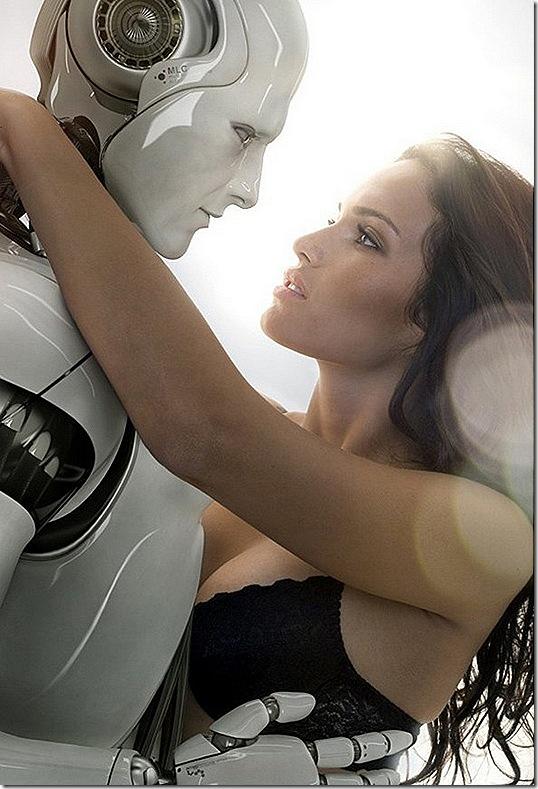 Robo e Humano