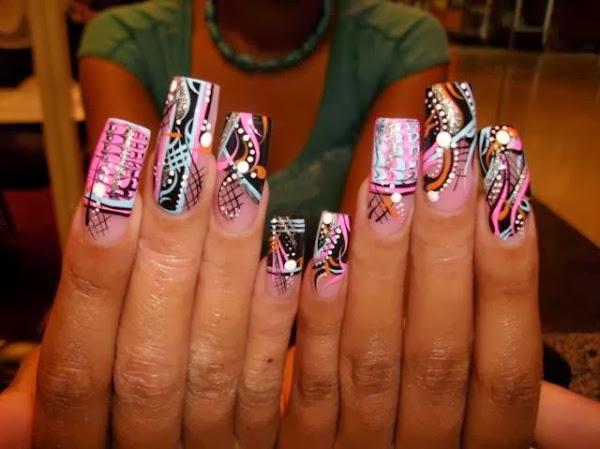 Crazy Nice Nail Art Crazy Nail Art Designs - Crazy Nail Art Designs Nail Designs, Hair Styles, Tattoos And