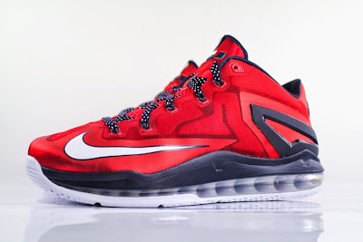 nike lebron 11 low gr red black 2 02 Nike LeBron 11 Independance Day Gets a New Release Date