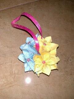 Wini home: Cara membuat origami bunga kusudama
