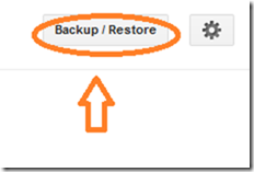 blogger-backup and restore