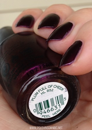 OPI Plum Full of Cheer (2010 ULTA Exclusive)