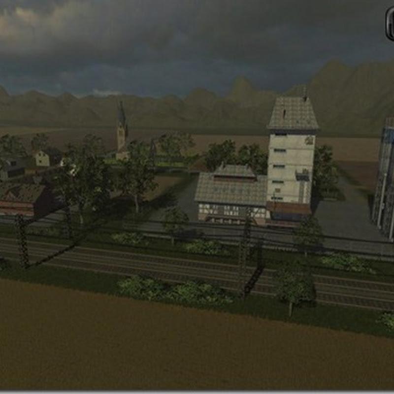 Farming simulator 2011 - Region Flusswald (Mappa)