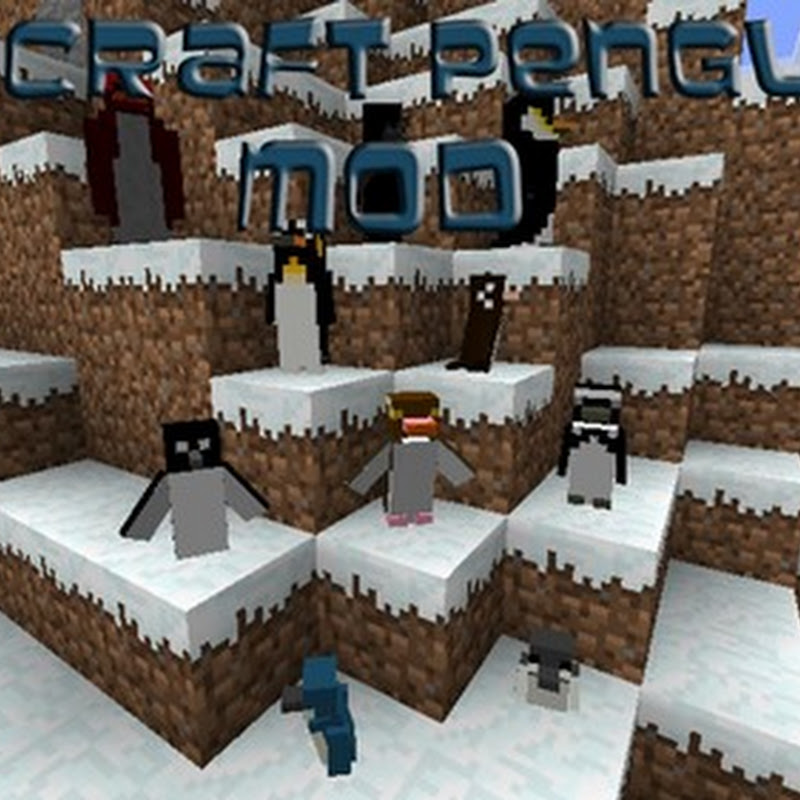 Minecraft 1.6.2 - Rancraft Penguins Mod (+ pinguini)
