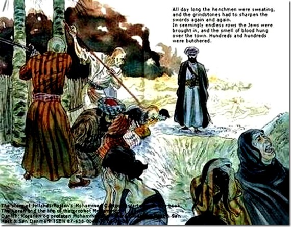 Banu Quraza Jewish Massacre by Mo