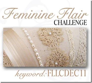 Feminine Flair Challenge Graphic