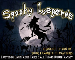 """Spooky Legends & Giveaway: Jennifer Estep's Gwen Frost on Hitchhikers """"KISS OF FROST"""""""