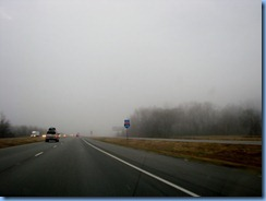 7421 Arkansas, Little Rock - I-40 East - fog