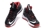 lbj10 fake colorway black white red 1 04 Fake LeBron X