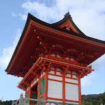 kiyomizu gate in Kyoto, Kyoto, Japan