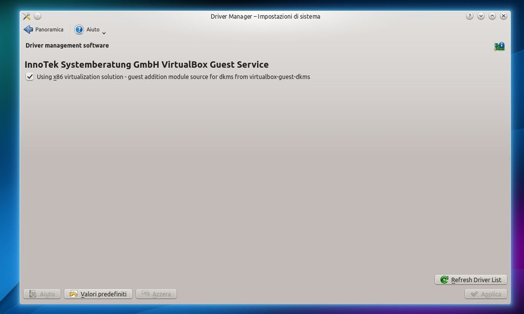 Kubuntu 14.04 - Driver Manager