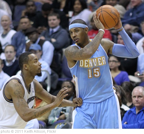 'Rashard Lewis and Carmelo Anthony' photo (c) 2011, Keith Allison - license: http://creativecommons.org/licenses/by-sa/2.0/