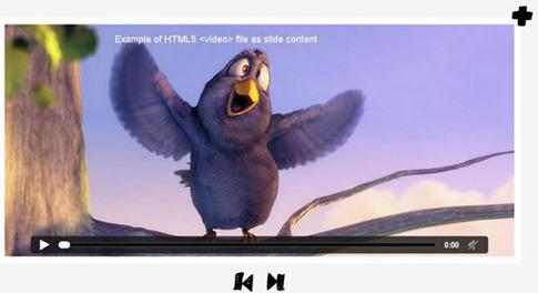 Visor animado para videos HTML5