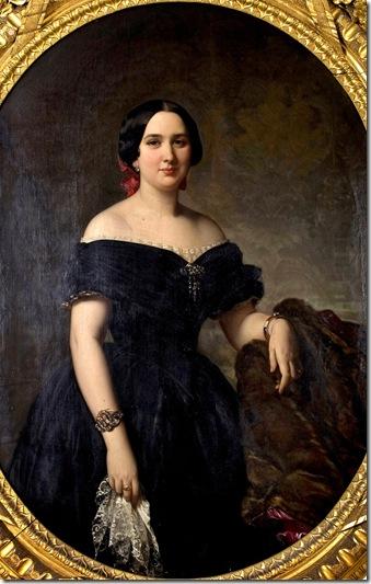Ferdeico de Madrazo - Amelia de Vilanova y de Nadal - 1853