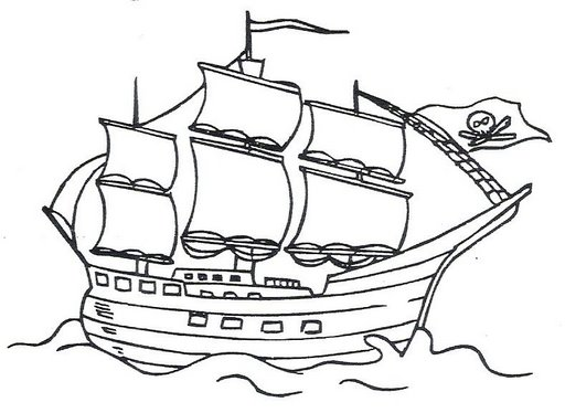 Dibujos De Barcos Piratas. Free Dibujos De Barcos Piratas. Imagenes ...