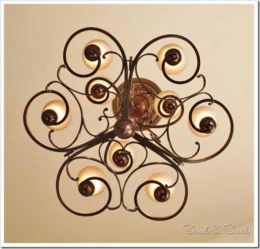 Hanging a chandelier in a foyer
