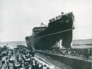 Botadura del CAMPAS. Revista INGENIERIA NAVAL. Octubre de 1931