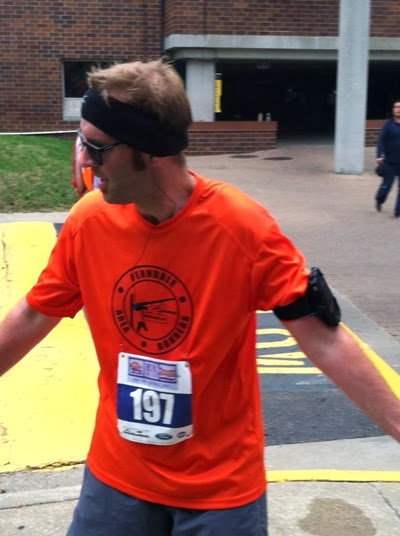 Josh in running gear