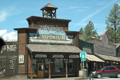 Winthropの町並み