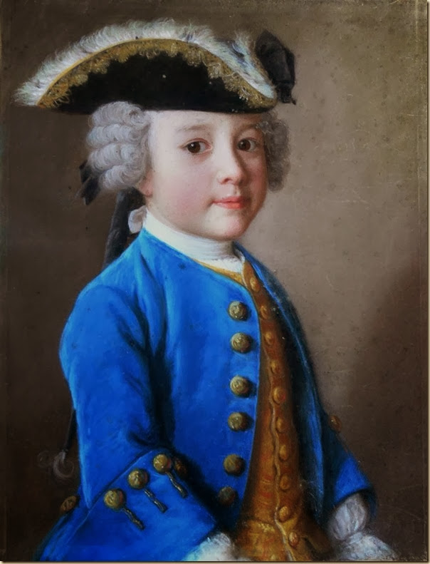 Liotard, Portrait de petit garçon