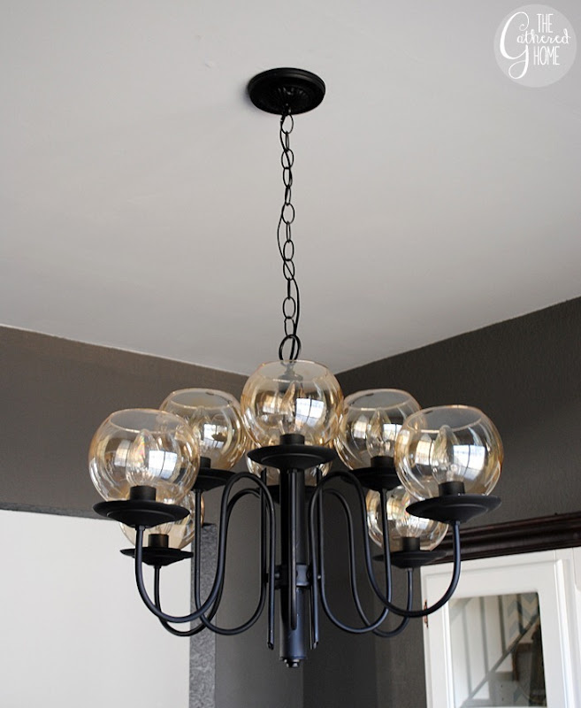 Dining Room Mid Century Chandelier13