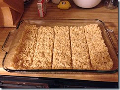 Lego Rice Krispies treats