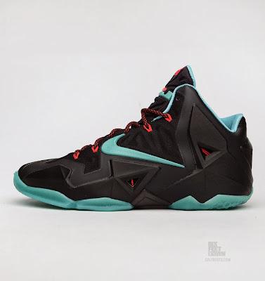 nike lebron 11 gr prohibition 2 05 Release Reminder: Nike LeBron XI Diffused Jade Prohibition