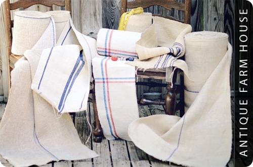 vintage grain fabric