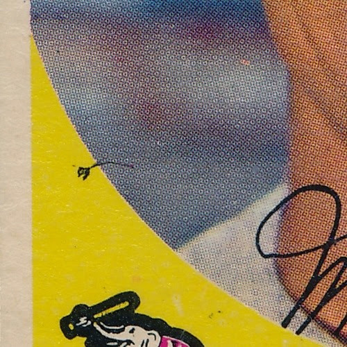 1959 Topps 182 Milt Graff variation