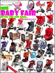 Baby HyperStore Mini Baby Fair Sale 2013 Singapore Deals Offer Shopping EverydayOnSales