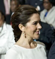 Ceremonia otwarcia i pokazać EXPO 2012.  Kronprinsparret ankommer og overvrer showet