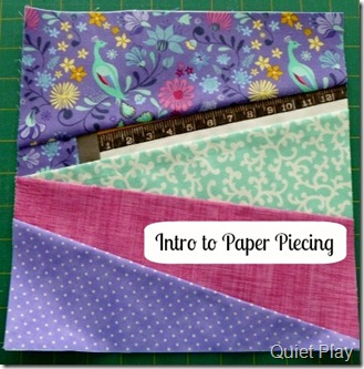 Intro to paper piecing
